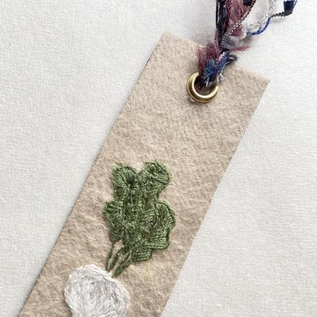 刺繍栞・蕪