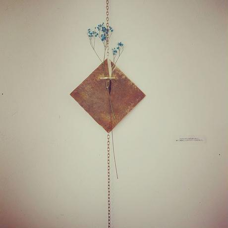 Dry flowers herbarium(Copper)