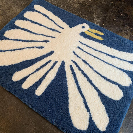 "Nathaniel Russell x PacificaCollectives ""White Bird"" Rug"