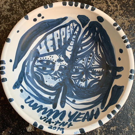 Thomas Campbell Paint on Bowl 2019