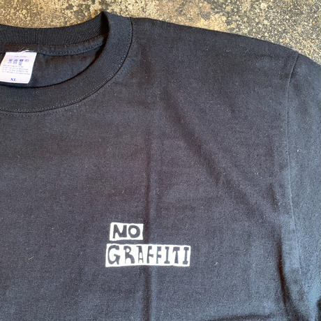 """""""NO GRAFFITI"""" S/SL Tee  Diego x PacificaCollectives"""