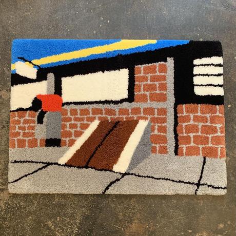 "Koji Yamaguchi x Pacifica Collectives ""Cellar Door""Rug"