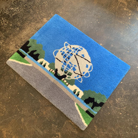 "Koji Yamaguchi x Pacifica Collectives ""Flushing Meadows"" Rug"