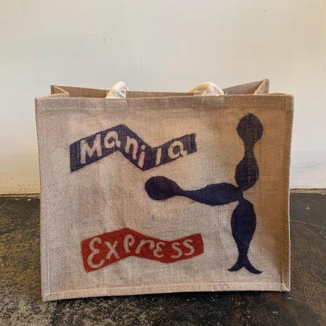 """Keita Miyairi xTyler Ormsby  """"Manila Express """"型染めBag2"""