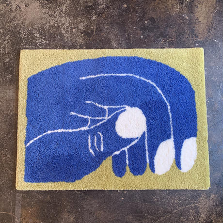 """Nathaniel Russell x PacificaCollectives  """"Grab""""  Rug"""