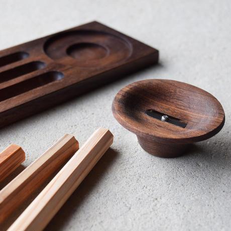 【ご予約受付中】木聞器 セット001 - ウォルナット