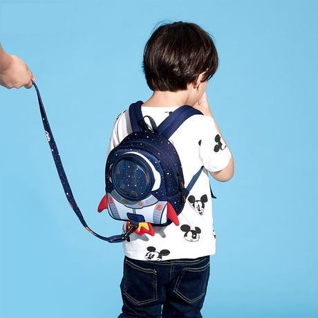 子供バッグ リュック スクールバッグ   学生鞄  ランドセル 迷子防止紐