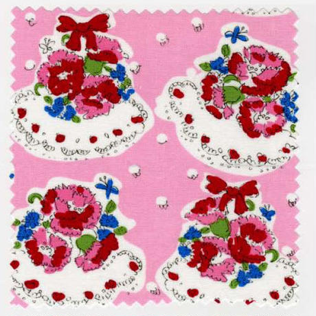 04 carnation / ピンク 1m単位のカット