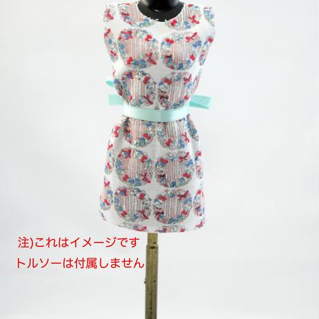 m01 キキパルフェミニチュア生地 ハナカザリ 50cm×25cm