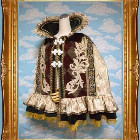 kki.1555 王家のケープ 。