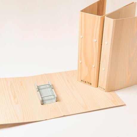 「普通に、木の文具」シリーズ 木のふぁいる 50w