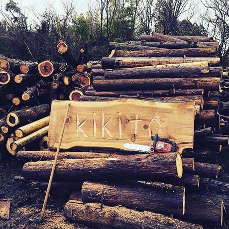 「普通に、木の文具」シリーズ 名刺ケース(山櫻)