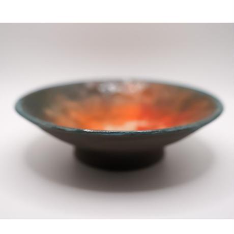 和紙焼 お皿(しぼり)
