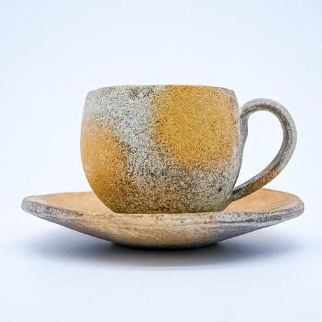 市野勝磯 椀皿(カップ&ソーサー)