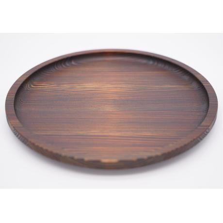 杉の木クラフト 丸盆(中)※お皿として使用可
