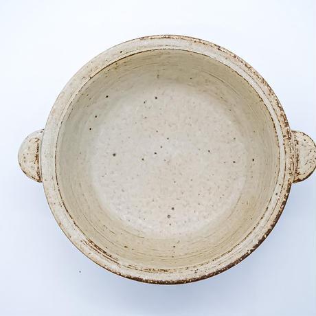 研窯 グラタン皿(小) ※サイズ6寸(幅 18㎝/高さ5㎝)