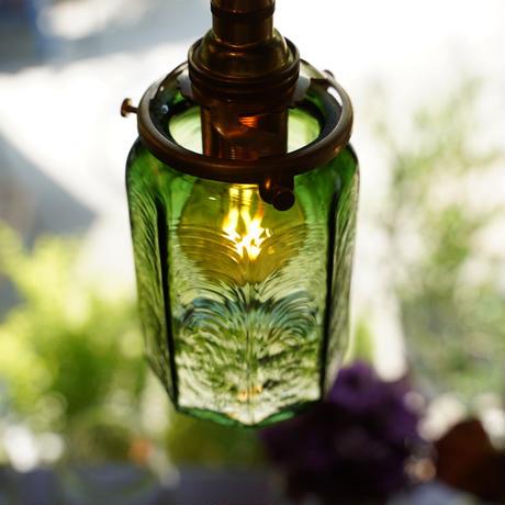 八角筒瓶 安土草多 ペンダント(色ガラス)