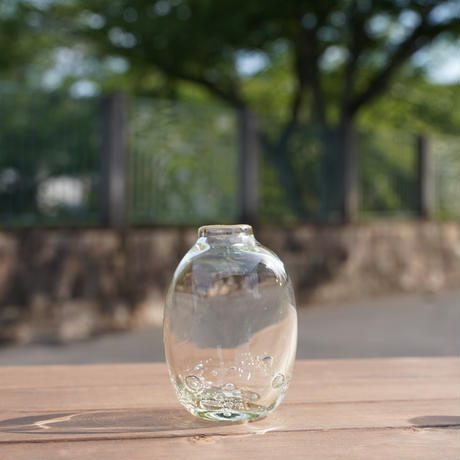 花瓶O 琵琶湖彩 glass imeca
