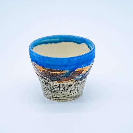 鶴琳窯 湯呑み
