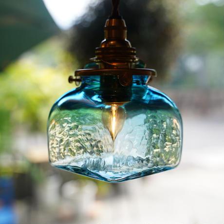 角瓶 安土草多氏 ガラスペンダントライト(色ガラス)