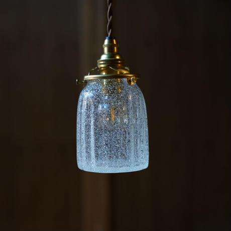鳴門筒瓶 安土草多 ガラスペンダントライト(泡)