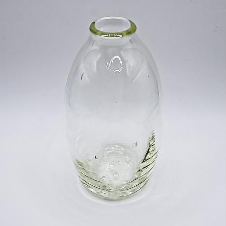 花瓶 長丸 琵琶湖彩 glass imeca