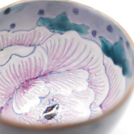 花形カップ(牡丹)/スズキヨウコ