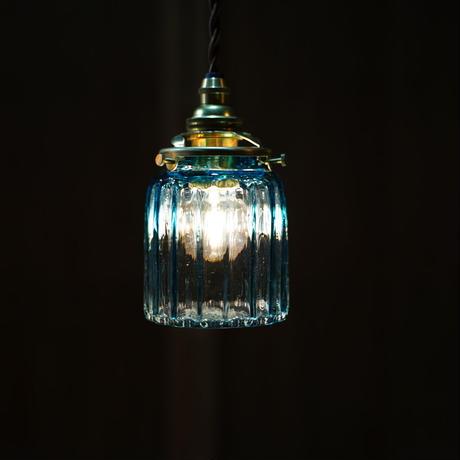 鳴門筒瓶 安土草多 ガラスペンダントライト(色ガラス)