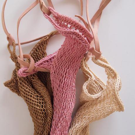 Maguey Mesh Bag / natural