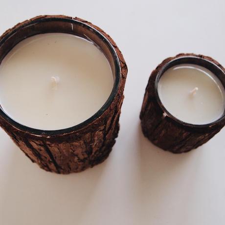TRUNK CANDLE ROSE GERANIUM (L)
