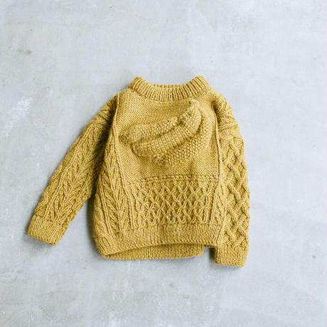 banaba knit mustard  (kids)