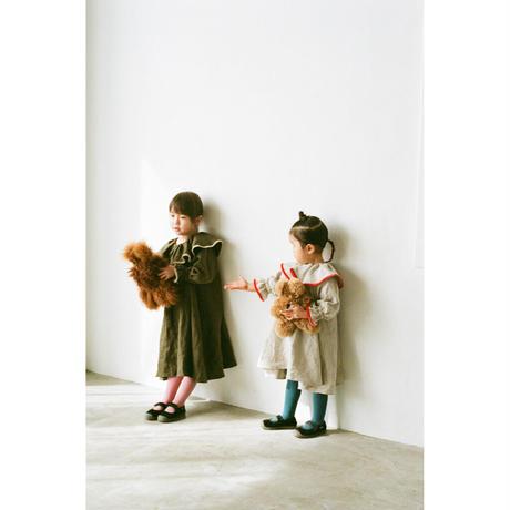 fuchidori dress natural (kids)