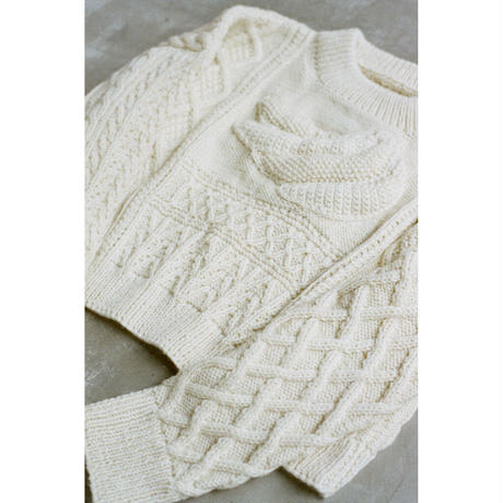 banana knit white (F)