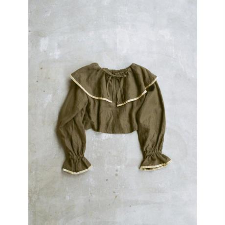 fuchidori top khaki brown (F)