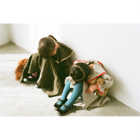 fuchidori dress khaki brown(kids)