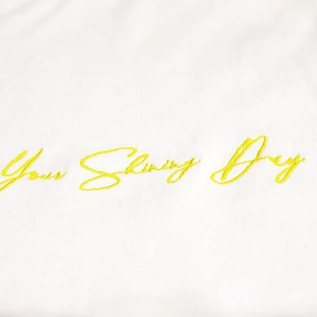 KILLA SHINING DAY L/S TEE WHITE