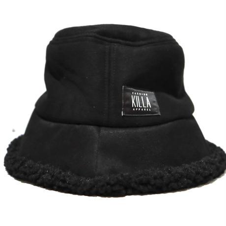 BOX LOGO BOA BUCKET HAT BLACK