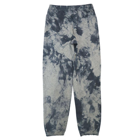 ESSENTIAL BIG LOGO SWEAT PANTS TIE-DYE GRAY