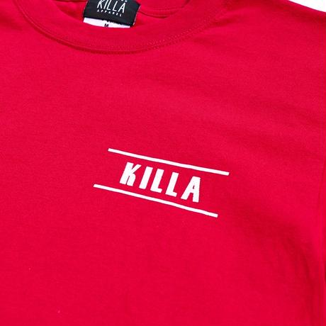 NEW ESSENTIAL LOGO S/S TEE CARDINAL RED