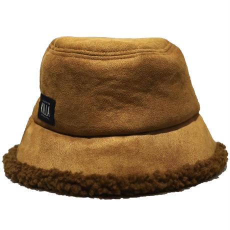 BOX LOGO BOA BUCKET HAT CAMEL