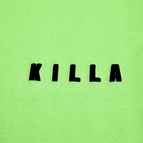 TINY KILLA S/S TEE LIME GREEN