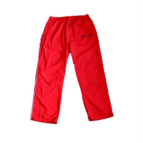 KILLA WINDBREAKER PANTS  RED