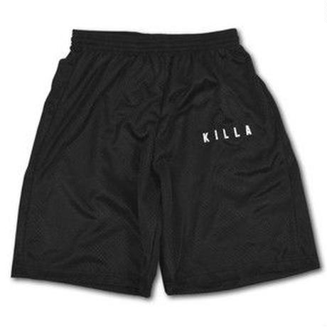 ESSENTIAL BOX LOGO MESH SHORTS BLACK