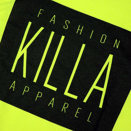 KIDS NEW ESSENTIAL BOX LOGO S/S TEE SAFETY YELLOW