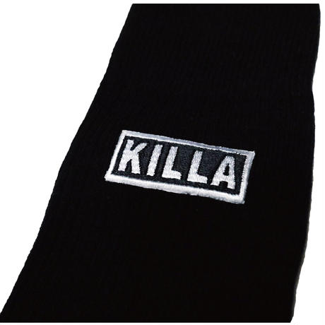 KILLA HIGH SOCKS BLACK