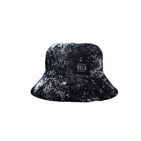 KILLA PAINTO BUCKET HAT  BLACK×WHITE