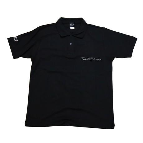 KILLA POLO SHIRT BLACK