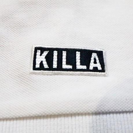 KILLA POLO SHIRT WHITE