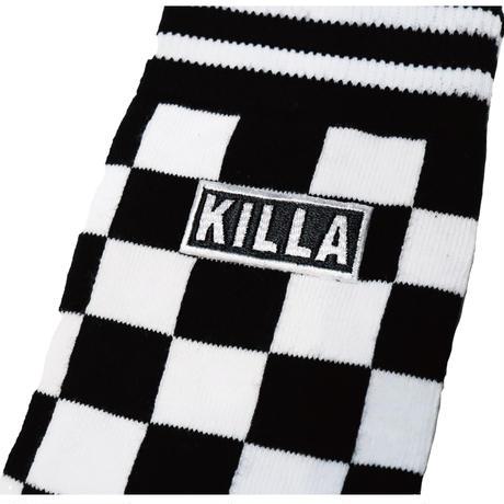 KILLA CHECKERED FLAG SOCKS