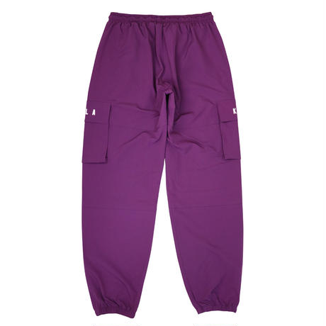 NEW ESSENTIAL LOGO SHELL JOGGER PURPLE